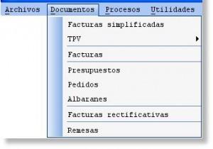 menu documentos